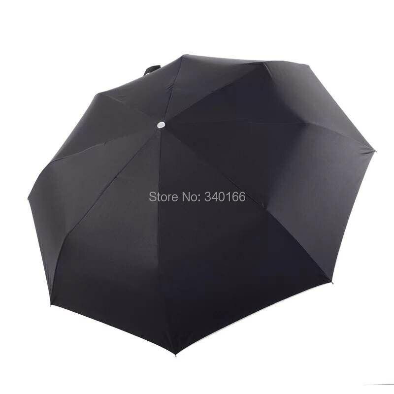Livraison gratuite-haute qualité lampe torche LED parapluie hommes tour Eiffel pluie parapluie femmes Protection solaire parapluie