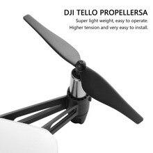 4 шт. быстросъемные пропеллеры для дрона DJI Tello Mini Drone Propeller CCW/CW реквизит запасные части Аксессуары для дрона