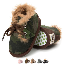 Vaikiški žieminiai batai Jaunavedžių kūdikiams darželiai Vaikai pirmieji vaikštyni šilti mergaičių berniukai Paprastas vienkartinis priešnuodžių krepšys