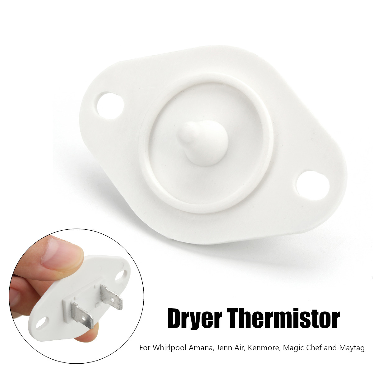 b7f042640b Dryer Temperature Control Thermistor Fuse Replacement for Whirlpool  WP8577274 AP6013514 PS11746740