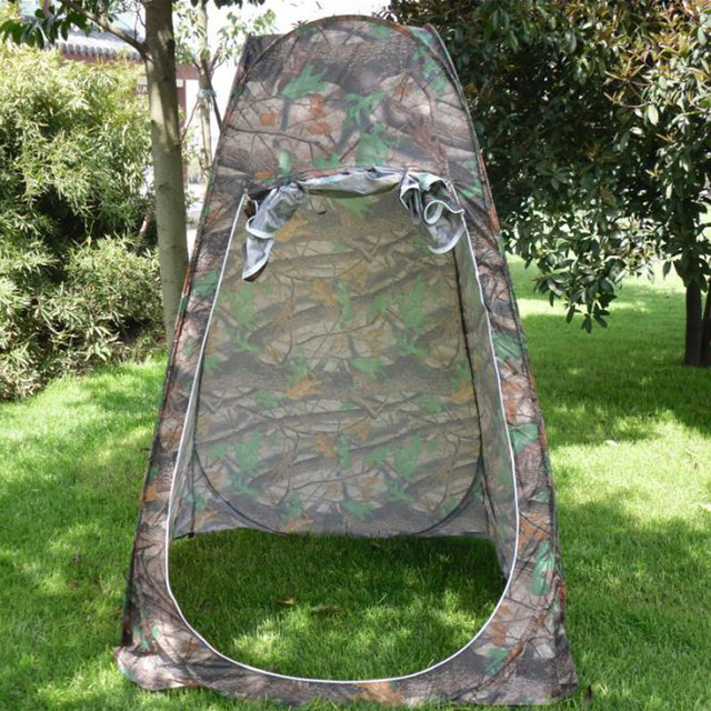 Leaves Camouflage Birdwatching Tents Outdoor Shower Dressing Tent C&ing Toilet Tent Size 120 * 120 * & Leaves Camouflage Birdwatching Tents Outdoor Shower Dressing Tent ...