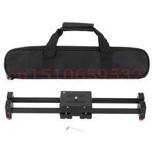 DSLR Camera Video Slider Dolly 50cm Track Rail Stabilizer 100cm Sliding Distance for 5D 5D2 5D3 6D 70D Photo Studio Accessories
