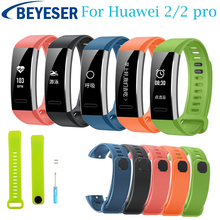 Replacement Sports Silicone Bracelet Strap Watch Band For Huawei 2 Pro Watchband Wristband Wrist