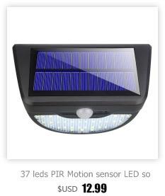 High Quality led solar pir