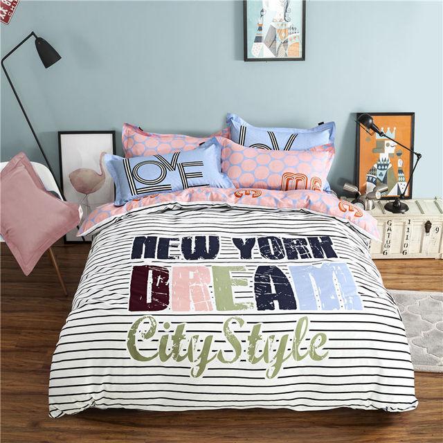 Princess Cotton Bed Linen Cartoon Anime Comforter Bedding Sets Full Size 4pcs Child Single Pillowcase Mattress