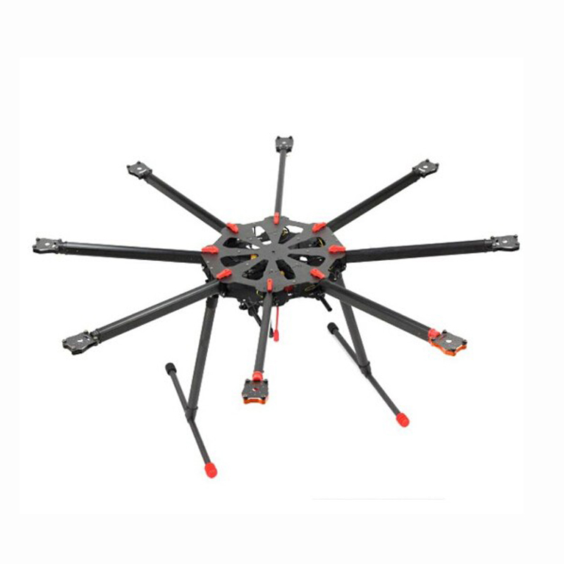 Tarot TL8X000 X8 Carbon Fiber Octocopter 8 Axis Set FPV Kit with Electric Retractable Landing Skids and Folding Arm for FPV f11270 tarot x8 tl8x000 8 axle octocopter umbrella type folding frame multicopter electronic retractable landing skid for fpv
