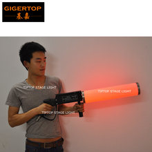 Hi Quality 1XLOT Led Co2 Gun Professional Led Co2 Gun,Cryo Gun,Cryo JET,CO2 Gun American DJ LED CO2 PARTY CANNON SET