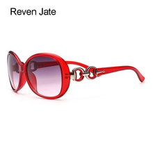 Reven Jate Sunwear Fashion Women Sunglasses Designer Brand Colorful Woman Sunshades for Accessories Stylish Decoration