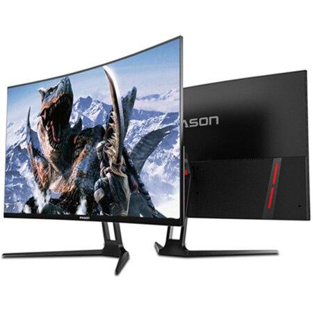 IPASON QR322X moniteur 31.5 ''1800R VA écran incurvé 2 K LCD 2560x1440 P 3000: 1 contraste 165Hz taux de rafraîchissement Port HDMI DP