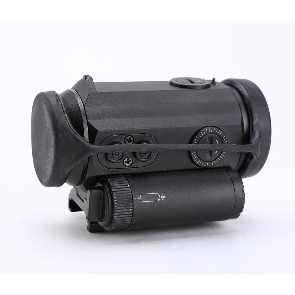 Caça tática 1x30 reflex red dot sight