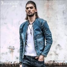 Vintage Jeans Jackets Men Brand Clothing Mens High Quality Plus size M-XXXL Casual denim Jackets For Men Chaqueta Hombre A811