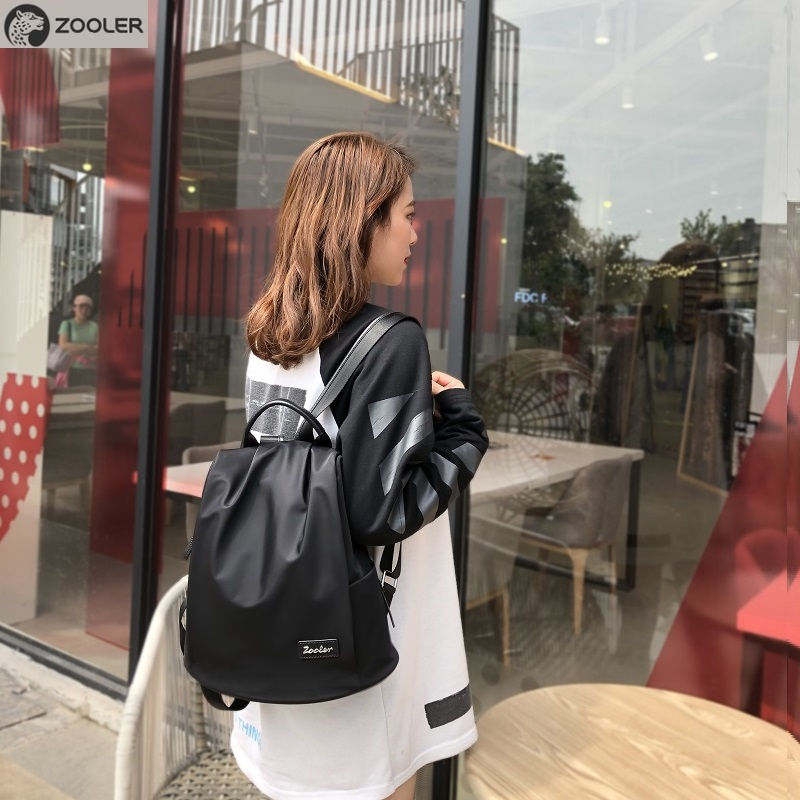 ZOOLER 2019 soft travel bags women fashion backpack Oxford high quality bag  versatile functional backpack for lady  bolsas d132ZOOLER 2019 soft travel bags women fashion backpack Oxford high quality bag  versatile functional backpack for lady  bolsas d132