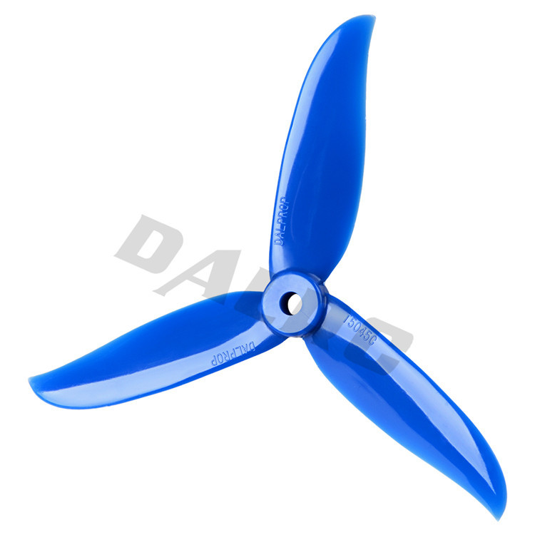 4x Newly DALPROP CYCLONE T5045C FF5045BN 5045 3 Blade propeller for QAV-R FO
