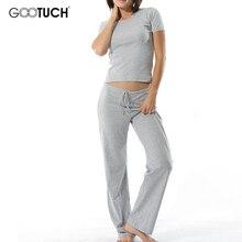 ผู้หญิง PLUS ขนาด PAJAMA ชุดชุดนอนชุดเสื้อแขนสั้น Ropa มหาดไทย Mujer Modal หญิง Homewear สวมใส่ชุดนอน 2465