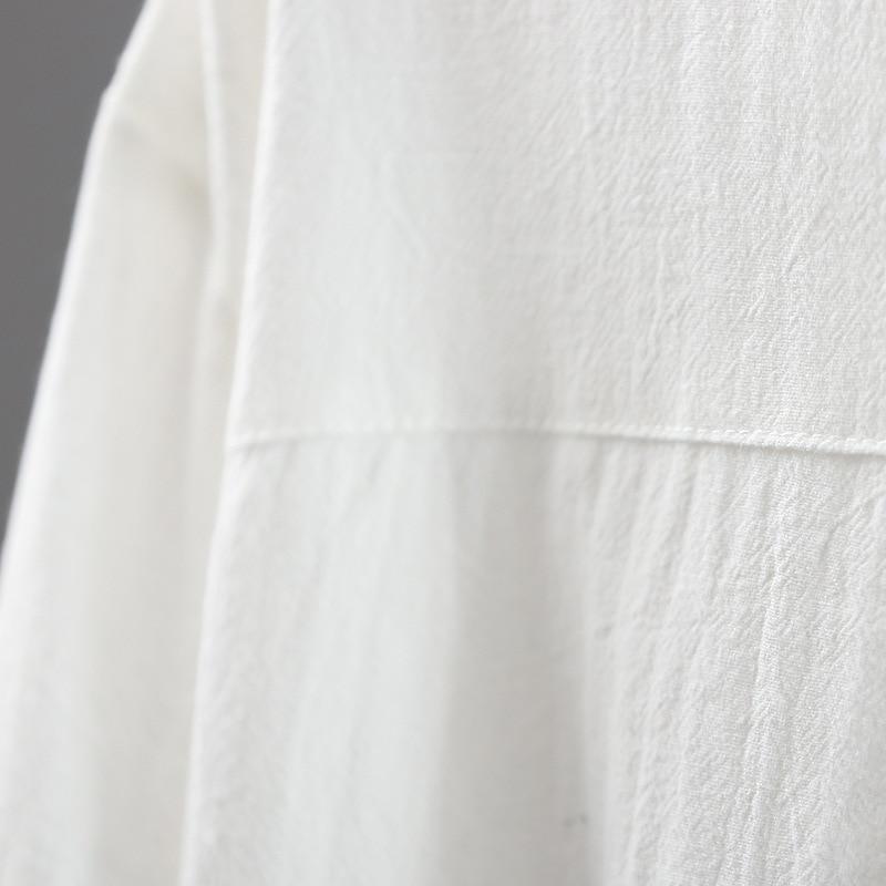Las Suelta Nuevo Verano Del Sólido De Grande blanco Negro Mujeres Camisa Tamaño 2018 Color 8PCxdq58w