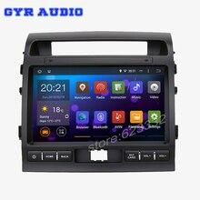 Quad-Core Android 5.1.1 1024×600 screen Car GPS radio player for Toyota Land Cruiser LC200 2008-2013 WIFI Bluetooth USB raido