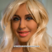 Beautiful WMDOLL  Sex Doll Head With smiling face Oral Sexy Fit For  full Body 140cm To 172cm