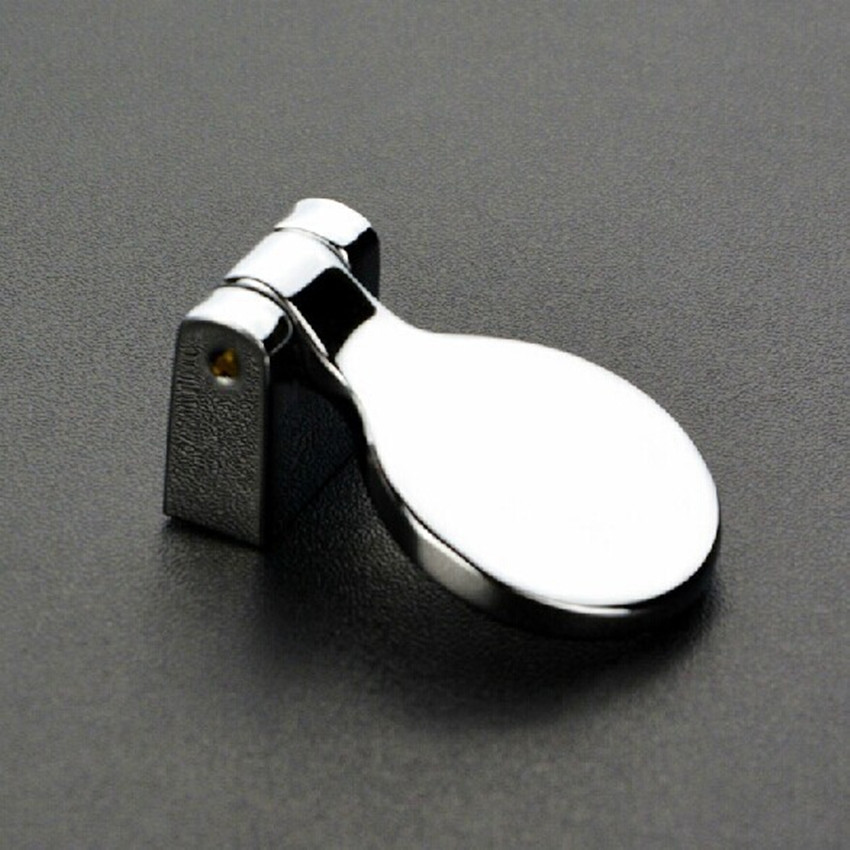 Modern Simple furniture knobs shiny silver shaky drawer knob chrome cabinet dresser cupboard furniture handle pull drop knob