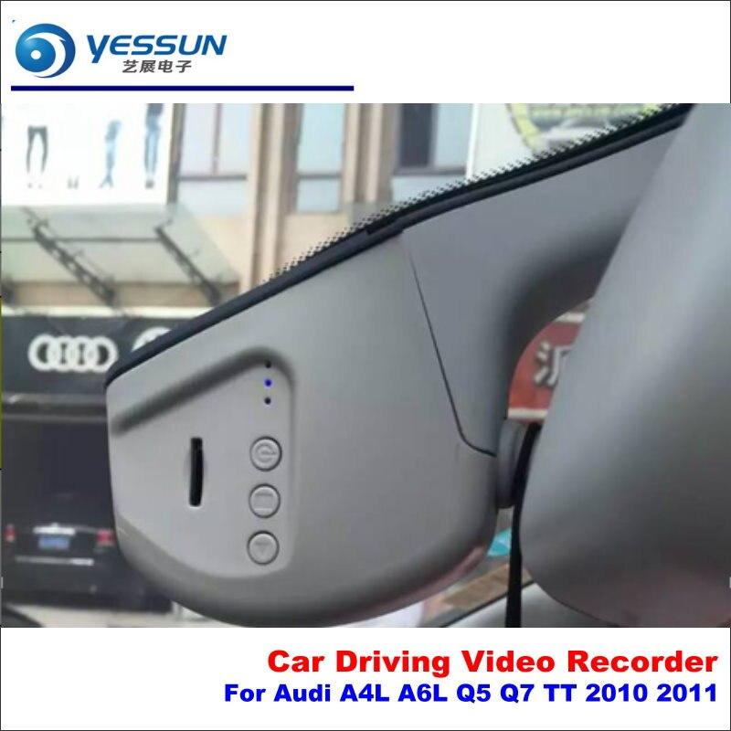 YESSUN For Audi A4L A6L Q5 Q7 TT 2010 2011 Car DVR Driving Video Recorder Front AUTO Dash CAM Head Up Plug Play OEM