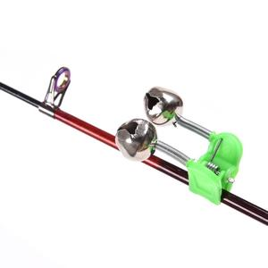 Image 1 - 2 Pcs Sea Fishing Rod Bell Accessories Tip Bite Lure Alarm  Fish Double Bell Ring