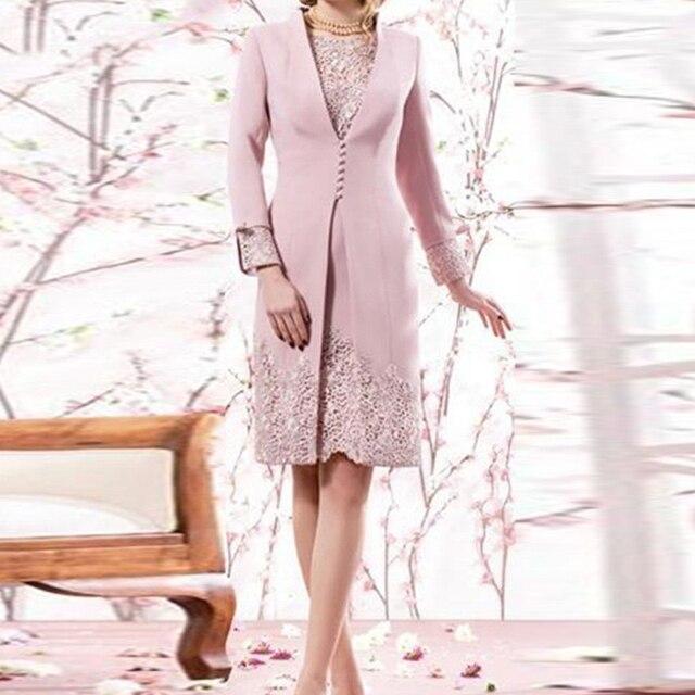 Элегантный 2016 новый для гладкий женщины формальных мать невесты платья ну вечеринку вечерние платья с курткой высокого класса на заказ
