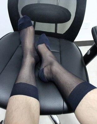 2017 Sexy male socks stockings men stocking socks sexy dress harajuku gentleman socks men meias Transparent Breathable socks