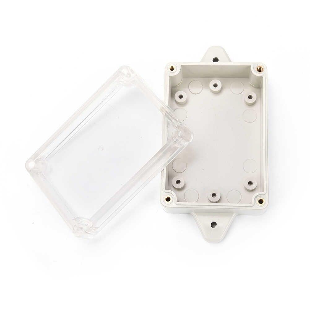 1 個新 DIY PLC プロジェクトボックス IP65 小型電子機器プラスチック防水ジャンクションボックススイッチボックス 83*58*33 ミリメートル