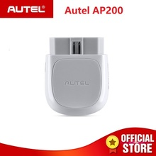 Autel AP200 Bluetooth Adapter OBD2 Scanner Code Reader Full Systems OBD2 Diagnostic Tool AutoVIN TPMS IMMO Service PK Mk808