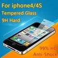 Para apple iphone4 4s 5 5s se 5c 6 6 s 7 prima de Cristal Templado Film Protector de Pantalla a prueba de Explosiones 5S sobre la protección vidrio