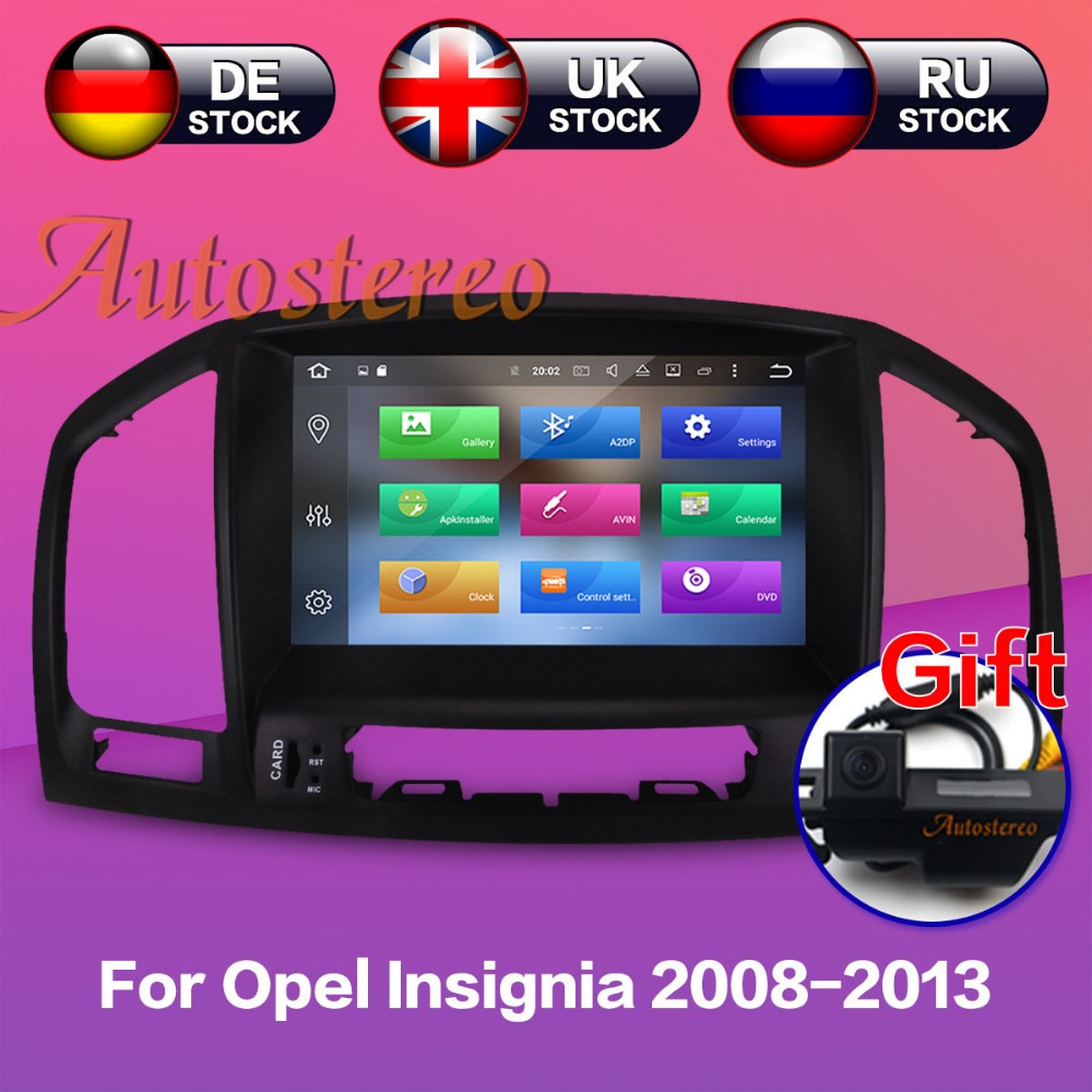 цена на The newest Android 8.0 7.1 Car DVD Player for Opel Vauxhall Holden Insignia 2008-2013 car stereo GPS NAVI navigation multimedia