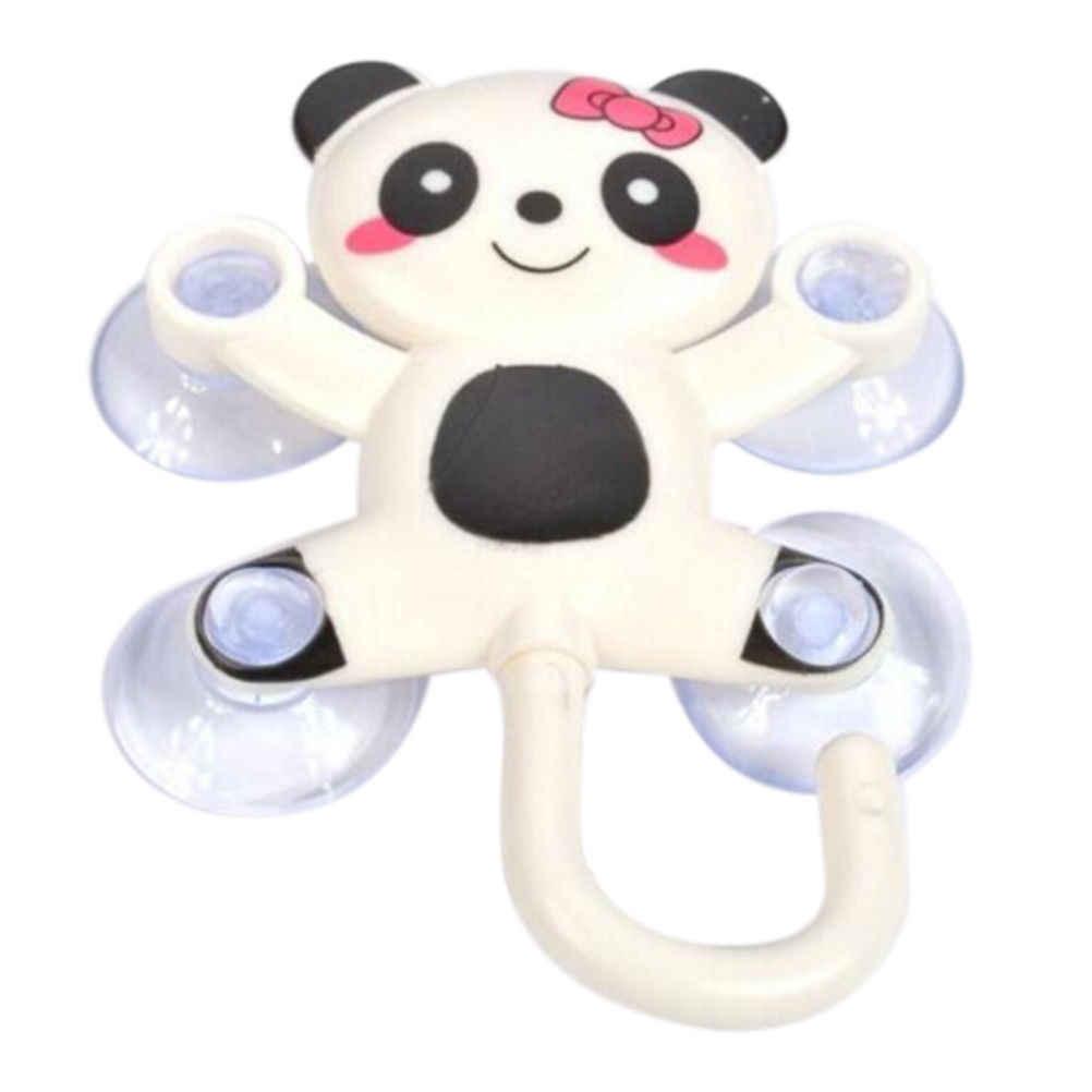 1 Pc śliczne zwierząt przyssawka wieszak na ręczniki wieszak na posiadaczy Panda świnia pszczoła wzór Zestawy łazienkowe Cartoon Sucker przyssawki