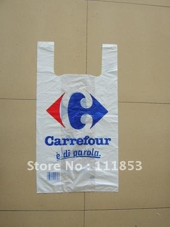 Custom Logo! ,packaging plastic bags, supermarket plastic bags. 26*42*0.005cm All size,color and thickness available