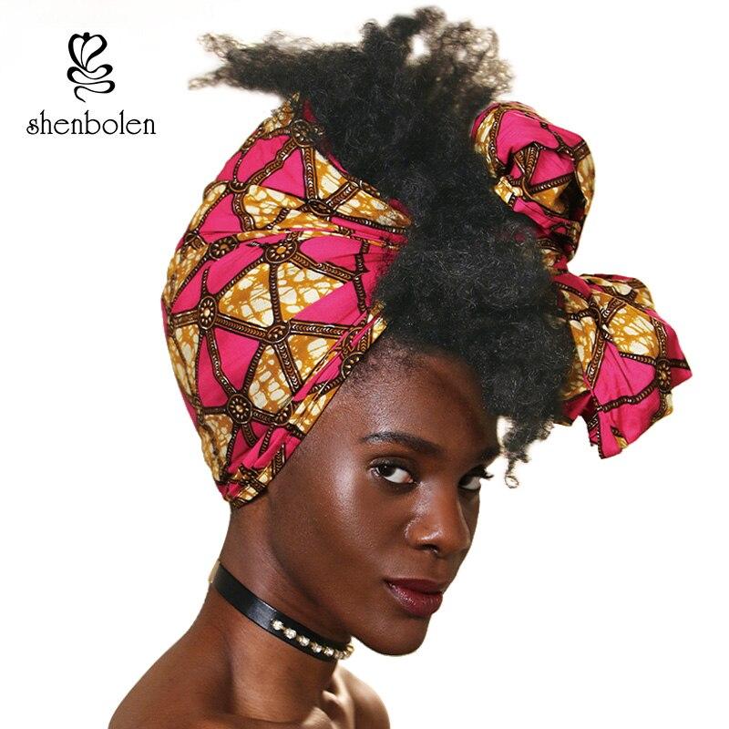 Kente Kopf Wickeln Handgemachte Afrikanische Frau Stirnband Schal Halstuch Turban Ankara Traditionellen Dashiki Wachs Stoff Baumwolle 71*21 zoll