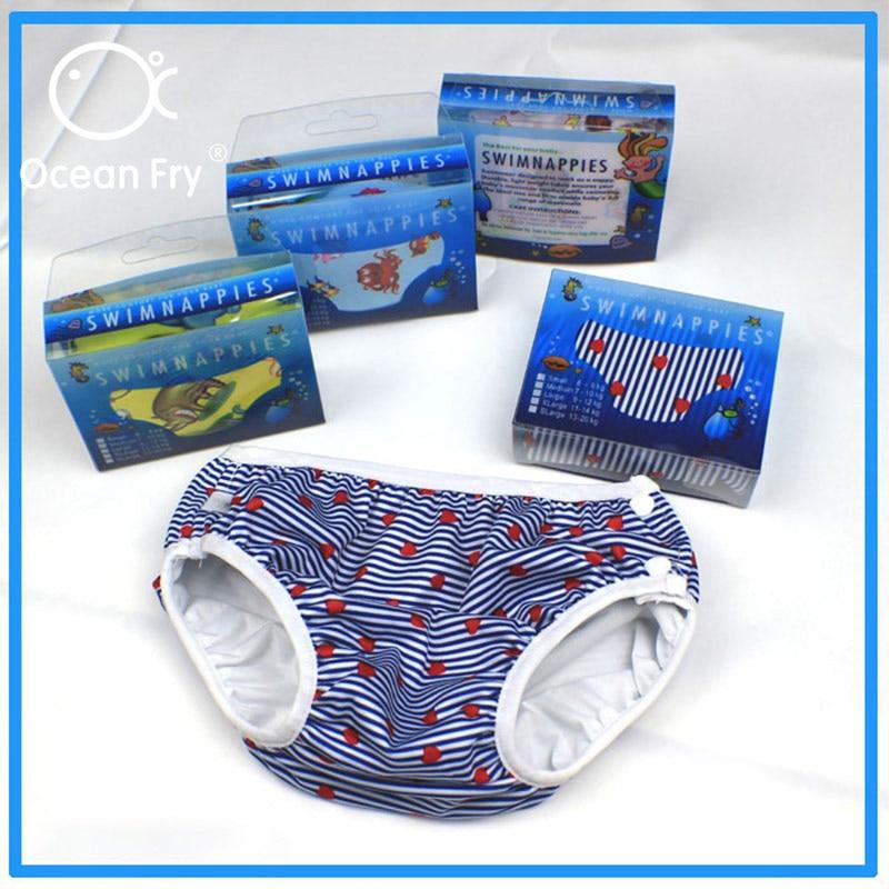 Children Swimwear Baby Nappy Reusable Swimming Trunks Toddler Infant Boys Girls Waterproof Leak Proof Diapers Comfortable Pants