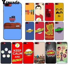 Yinuoda Bazinga The Big Bang Theory tv show DIY Protector Case for Apple iPhone 8 7 6 6S Plus X XS MAX 5 5S SE XR Mobile Cover(China)