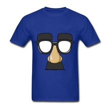 2017 New summer Latest Mens T-shirts Funny Big Nose Custom Made Printing Tee Round Collar Short Sleeve Mens T-shirts