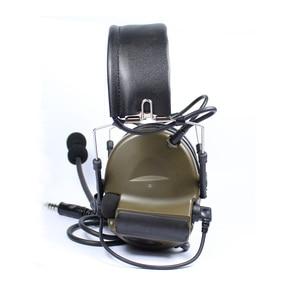 Image 4 - חיצוני ציד טקטי אוזניות III Airsoft פיינטבול Comtac אוזניות פעיל רעש ביטול צבאי אוזניות