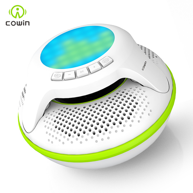 meidong ORCA IPX7 Waterproof Bluetooth Speaker Wireless Portable Shower Subwoofer Stereo Mini Light LED Speakers For iPhone