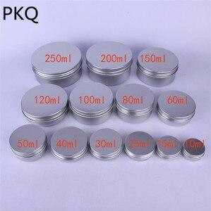 Image 1 - 50 pcs/lot pots en aluminium pots en aluminium crème en aluminium 30 ml récipient en aluminium 50 ml boîte en aluminium