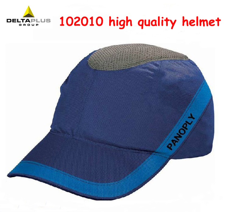 DELTA PLUS 102010 helmet high quality Safety helmets Breathable Comfortable fashion soft safety helmets high quality safety helmet abs v type breathable casco de seguridad anti smashing light practical safety helmets