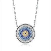 Fashion Jewelry Best Quality 100 Silver Crystals From Swarovski Pendant Necklaces Women Handmade Maxi Wedding Jewelry