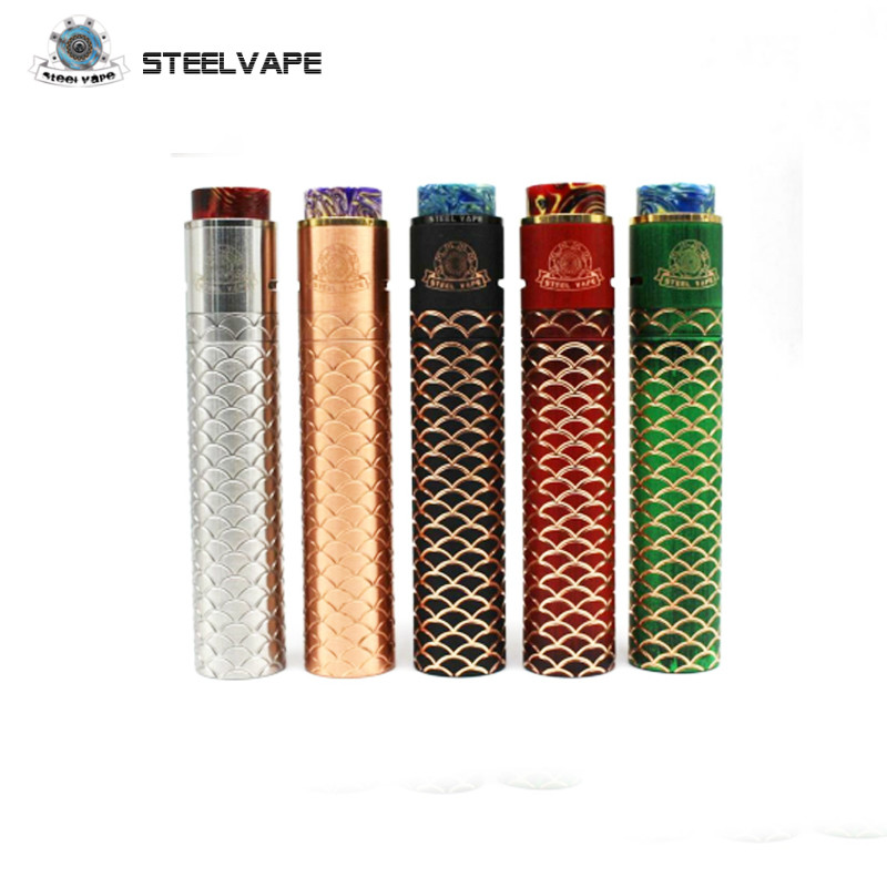 Original Steel Vape Sebone Kit Sebone E Cigarette Mechanical Tube Mech Mod Kits Vaporizer Electronic Hookah Hot SteelVape дрип тип 810 steel vape