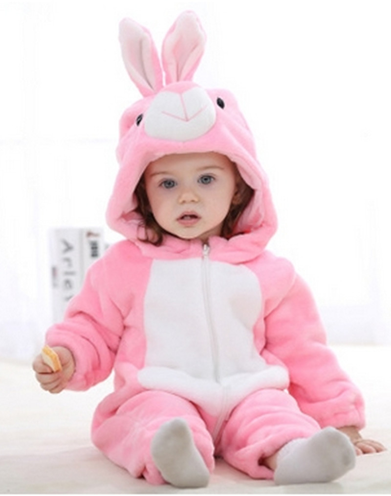 Baby Girls Clothes Animal Newborn Baby Rompers Spring ...
