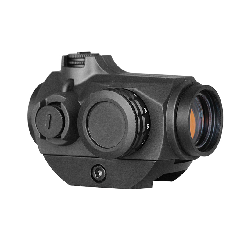 Laserspeed chasse 1x20 reflex viseur point rouge portée 3 MOA pour rifle guns AK47 AR15 9mm Laru Picatinny Weaver rail