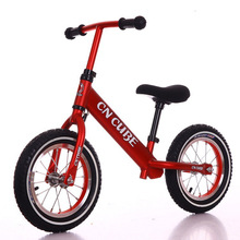abdo 5 Colors Childrens Two-Wheeled Balance Bicycle Portable Adjustable Seat Without Pedals Children Bike Baby Riding Toys