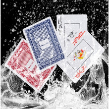Hot Sale Durable Waterproof Poker Plastic Playing Cards Set Funny Board Game Baralho Toy For Adult Party Random Color