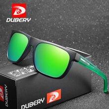 DUBERY Brand Design Polarized Sunglasses Men Driver Shades Male Sun Glasses For Summer Mirror Square Oculos De Sol D187