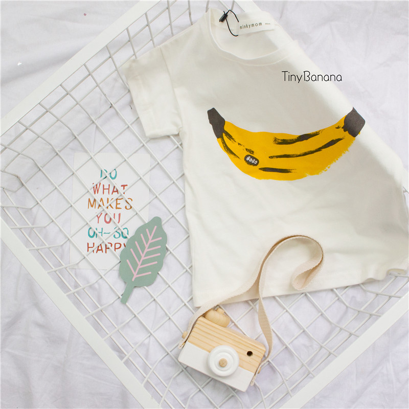 Bobo Choses niños plátano patrón Camiseta para los muchachos y las ...