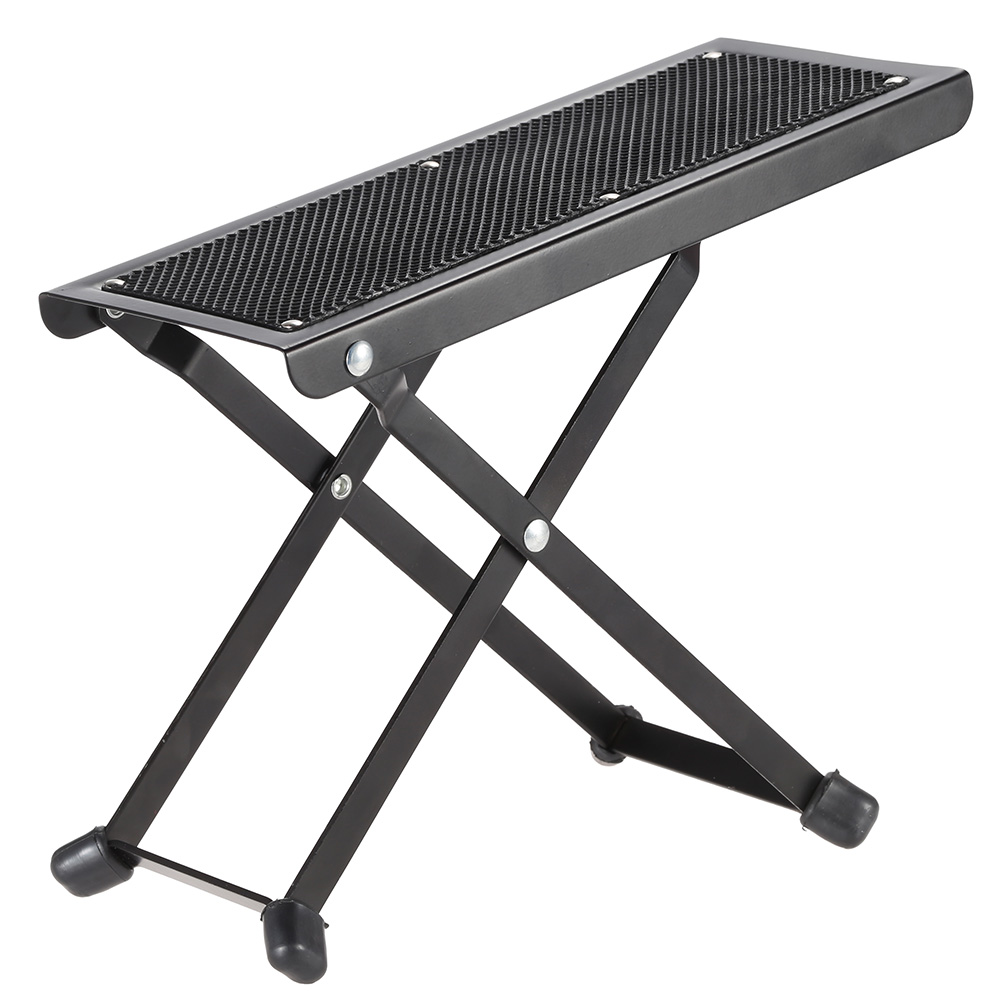 Foldable Metal Guitar Pedal Anti-Slip Guitar Foot Rest Stool 4 Adjustable Height Levels Black  sc 1 st  AliExpress.com & Popular Adjustable Foot Stools-Buy Cheap Adjustable Foot Stools ... islam-shia.org