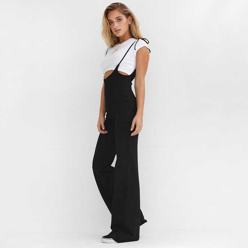 f5c78666d05 Detail Feedback Questions about Echoine 2018 High Waist Suspenders for  Women Fashion Sweet Girls Braces Pants Casual Loose Trousers Overalls on ...